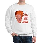 Cheese Faced Trump Sweatshirt
