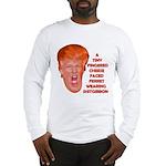 Cheese Faced Trump Long Sleeve T-Shirt