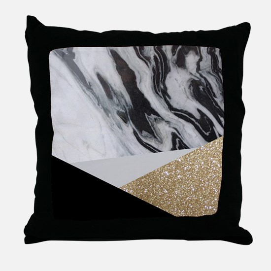 Funny Abstract Throw Pillow