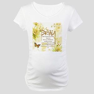 The Lord's prayer Maternity T-Shirt