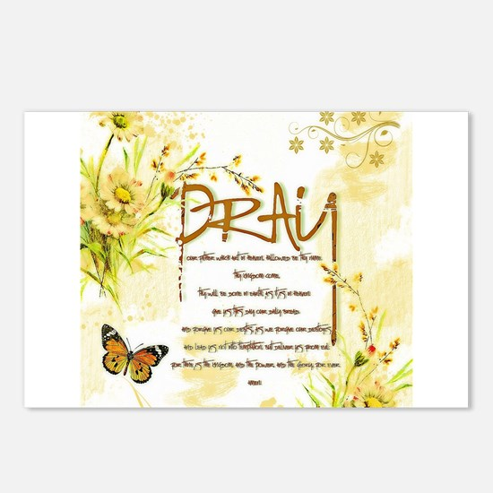 The Lord's prayer Postcards (Package of 8)
