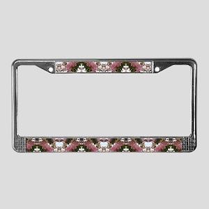 Cherry Blossoms License Plate Frame