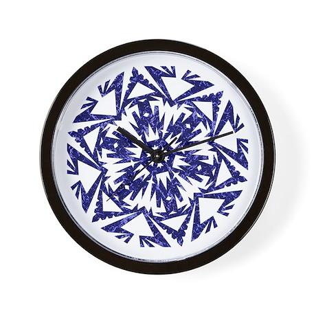 Snowflake 3 Wall Clock