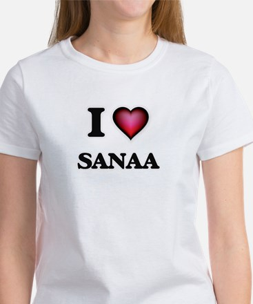I Love Sanaa T-Shirt