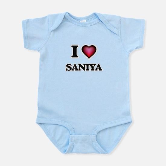 I Love Saniya Body Suit