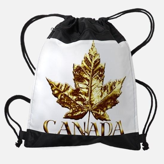 Canada Gold Medal Souvenir Drawstring Bag