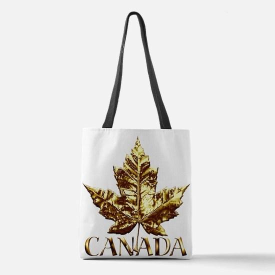 Canada Gold Medal Souvenir Polyester Tote Bag