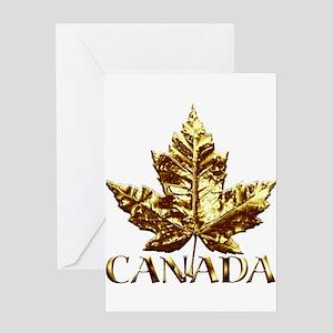 Canada Gold Medal Souvenir Greeting Cards