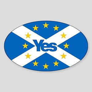 Yes to Independent European Scotland - 'Sa Sticker