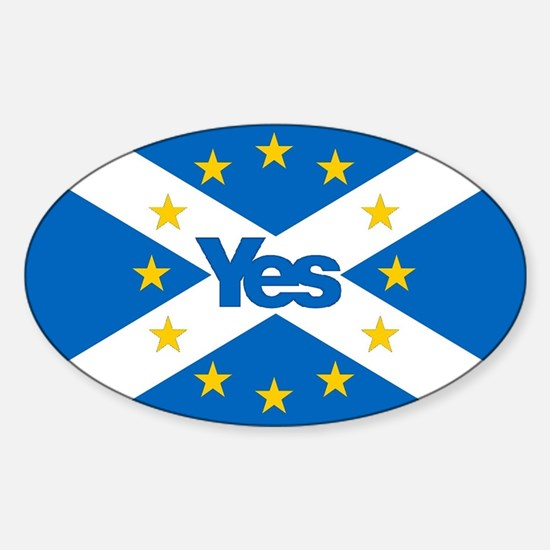 Yes to Independent European Scotland - 'Sa Decal