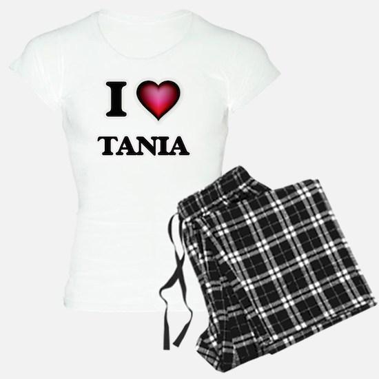 I Love Tania Pajamas
