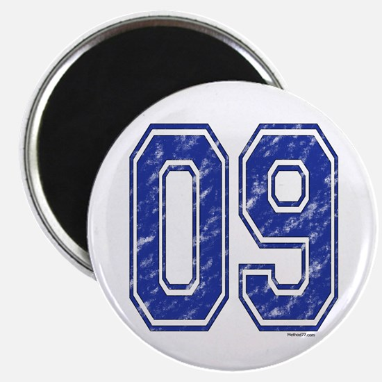 09 Jersey Year Magnet