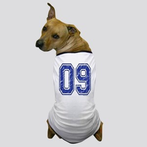 09 Jersey Year Dog T-Shirt