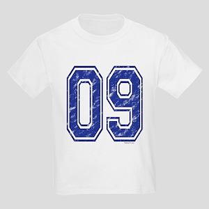 09 Jersey Year Kids Light T-Shirt