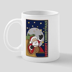Santa Claus Christmas Tall Mug