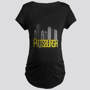 Pittsburgh City Colors Maternity T-Shirt