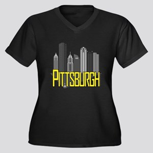 Pittsburgh City Colors Plus Size T-Shirt