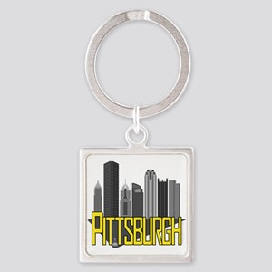 Pittsburgh City Colors Keychains
