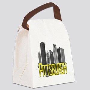 Pittsburgh City Colors Canvas Lunch Bag