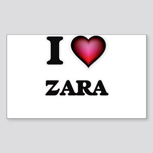 I Love Zara Sticker