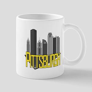 Pittsburgh City Colors Mugs