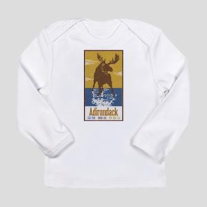 Adirondack Moose Long Sleeve T-Shirt