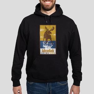 Adirondack Moose Hoodie (dark)