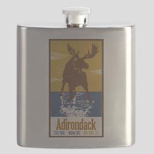 Adirondack Moose Flask