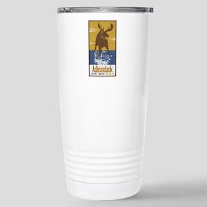 Adirondack Moose Stainless Steel Travel Mug