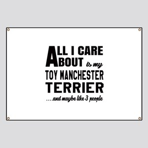 All I care about is my Toy Manchester Terri Banner