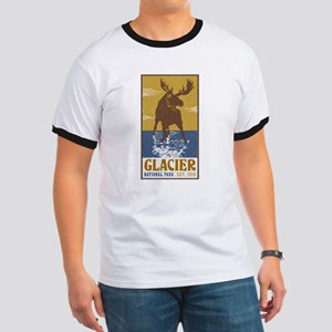 Glacier_National_Park_Moose T-Shirt