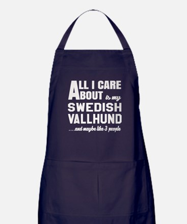 All I care about is my Swedish Vallhu Apron (dark)