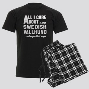 All I care about is my Swedish Men's Dark Pajamas