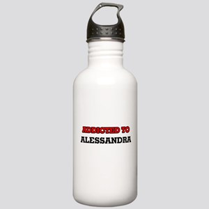 Addicted to Alessandra Stainless Water Bottle 1.0L