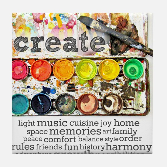 Create Tile Coaster