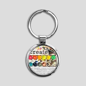 Create Round Keychain