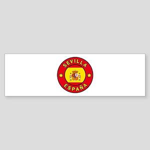 Sevilla Espana Bumper Sticker