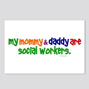 My Mommy & Daddy Are Social Workers (PR) Postcards