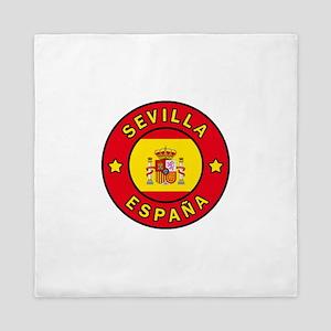 Sevilla Espana Queen Duvet