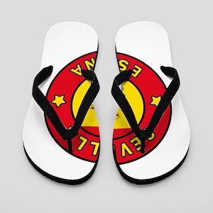 Sevilla Espana Flip Flops
