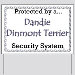 Dandie Security Yard Sign