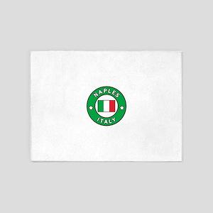Naples Italy 5'x7'Area Rug