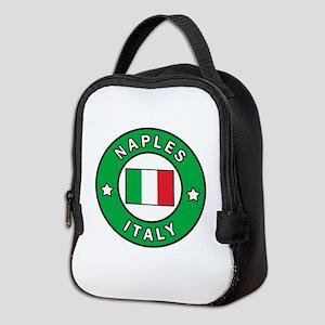 Naples Italy Neoprene Lunch Bag