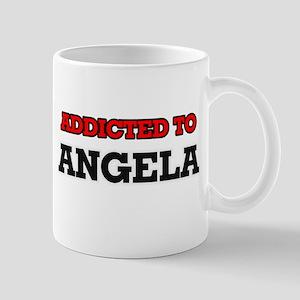 Addicted to Angela Mugs