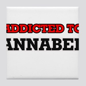 Addicted to Annabel Tile Coaster