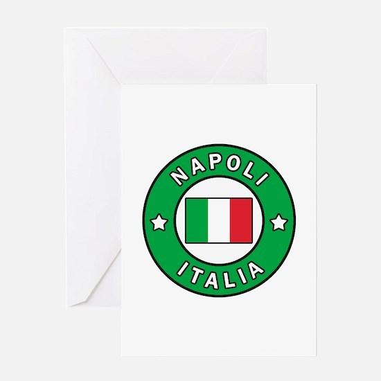 Napoli Italia Greeting Cards