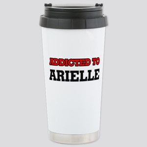 Addicted to Arielle Stainless Steel Travel Mug