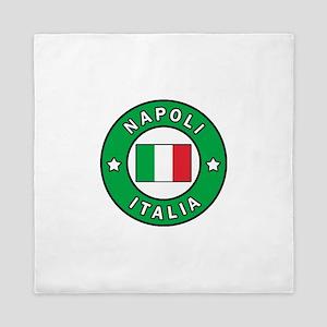 Napoli Italia Queen Duvet