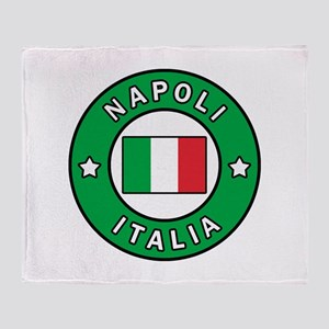 Napoli Italia Throw Blanket