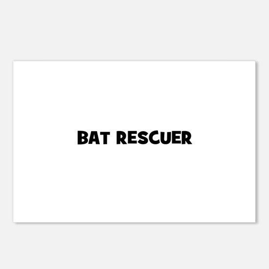 bat rescuer Postcards (Package of 8)